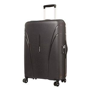 American Tourister Skytracer Polycarbonate 75 Black Spinner Suitcase